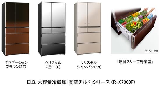 日立冷蔵庫大容量真空チルド