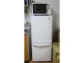 コンパクトな冷蔵庫、ハイアール /JR-NF140H-W